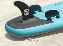 Aqua Marina Vapor 10' 10 Inflatable Stand Up Paddle Board (SUP) with Paddle