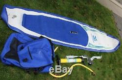 Aquaglide Cascade 10' 6 XXL Inflatable Stand Up Paddle Board With Pump Bag ISUP