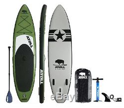 Atoll 11'0 Foot Inflatable Stand Up Paddle Board, FREE pick up Colorado