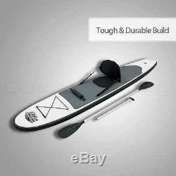 #BESTWAY 122 INFLATABLE STAND UP PADDLE BOARD Surfboard SUP Kayak Paddle Pump