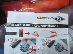 BIC Sport Red Inflatable Stand Up Paddle Board Surfboard SUP 11 Ft