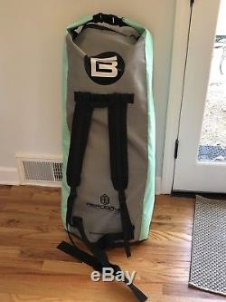 BTE 116 Drift Inflatable Stand Up Paddle Board Bote Bag, Pump, Fin, Patch Kit