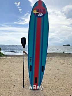 Beach Bum SPK3 10' 10 (6 Thick) Inflatable Stand Up Paddle Board SUP