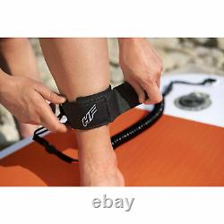 Bestway Hydro Force Aqua Journey Inflatable 9 Foot SUP Stand Up Paddle Board Set