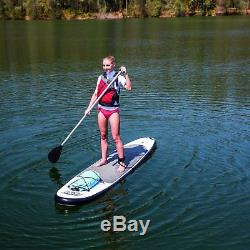 Bestway Inflatable Hydro-Force Wave Edge 122 Inch Stand Up Paddle Board (2 Pack)
