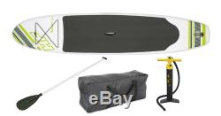 Bestway Inflatable Hydro Force Wave Edge 122 x 27 Stand Up Paddle Board, Green