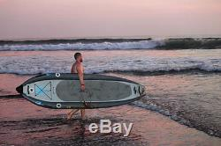 Boardworks Badfish MCIT 10-6 Inflatable Stand Up Paddle Board SUP Yellow+ Paddle