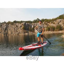 Body Glove Dynamo 10 8 Inflatable Stand-Up Paddleboard Red/White