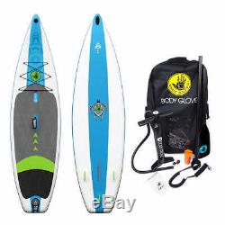 Body Glove Performer 11' Inflatable Stand Up Paddle Board Package, NO TAX
