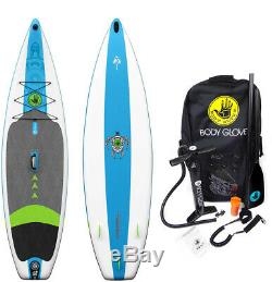 Body Glove Performer 11 ft. Inflatable Stand Up Paddle Board Package