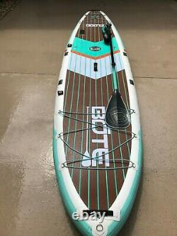 Bote Flood Inflatable 11' Stand Up Paddle Board Barely Used