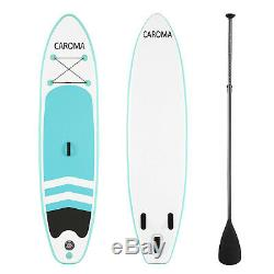 CAROMA 10' Inflatable Stand Up Paddle Board SUP Surfboard & complete Kit No-Slip