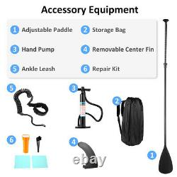 CAROMA 10 Inflatable Stand Up Paddle Board SUP Surfboard with complete kit