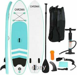 CAROMA 10 Inflatable Stand Up Paddle Board SUP Surfboard with complete kit US