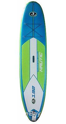 California Board Company CBC 11' Inflatable Stand Up Paddleboard I-SUP with Paddle