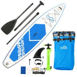 Camping Survivals Portable Inflatable 12' Stand Up Paddle Board Packpage Surf