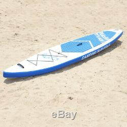 Camping Survivals SUP 12'(6 Thick) Inflatable Stand Up Paddle Board Package New
