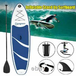 Caroma 1FT-Inflatable Stand Up Paddle Board iSUP with Adjustable Backpack UA-FAST