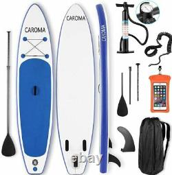 Caroma Inflatable Stand-UP Paddle Board SUP Accessories Included with Adj Paddle