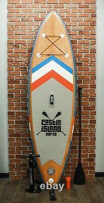 Castle Island SUP Co. Inflatable Stand Up Paddleboard Paddle Board Adventurer