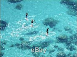 Clear Polycarbonate stand up paddle board