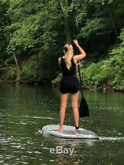 Clear / Transparent 10' Stand Up Paddleboard SUP by Cypress Rowe Outfitters