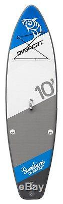 DVSPORT Inflatable 10' Stand Up Paddle Board ISUP Package