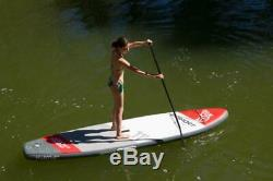 DVSPORT Inflatable Stand up Paddle Board (11×30×6) with SUP Accessories