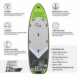 Driftsun Orka 12 Paddle Board Multi Person Inflatable Stand Up Paddle Board