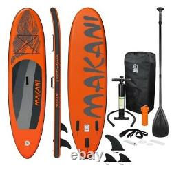 ECD Inflatable Stand Up Paddle Board Premium SUP Accessories Multiple Colors