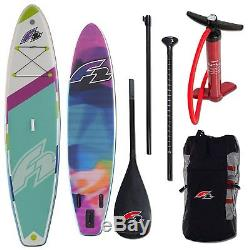 F2'FreeRider Light' Stand Up Paddle Board SUP Carbon Paddle Surfboard ISUP