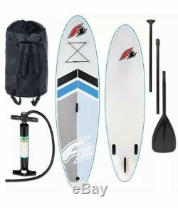 F2 Inflatable Stand-Up Paddle Board 3-fin system SUP Star NEW! UK FAST DELIVERY