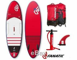 Fanatic Fly Air Premium inflatable SUP Windsurf Stand up Paddle Board Surfboard