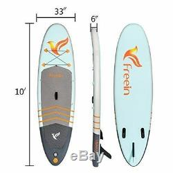Freein 10' Long Stand Up Paddle Board Inflatable SUP Complete Packages