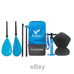 Freein Stand Up Paddleboard Inflatable SUP With10 Long With Kayak Conversion Kit