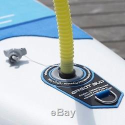 GREAT SUP Inflatable 12'7'' Explorer Stand Up Paddle Board (6 Thick)