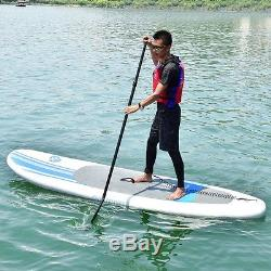 Goplus 10FT Inflatable Stand Up Paddle Board SUP Summer Holiday Exercising Body