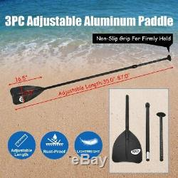 Goplus 10' Inflatable Stand Up Paddle Board SUP with 3 Fins Free Shipping