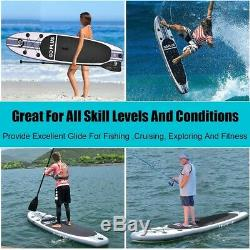 Goplus 10' Inflatable Stand Up Paddle Board SUP with 3 Fins NEW