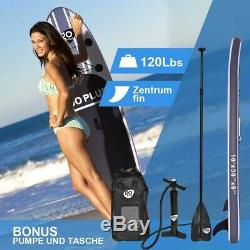Goplus 10' Inflatable Stand Up Paddle Board SUP with 3 Fins New Unopened