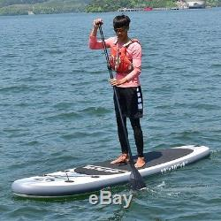 Goplus 10ft Inflatable Stand Up Paddle Board with 3 Fins Surfboard Non Slip Grip