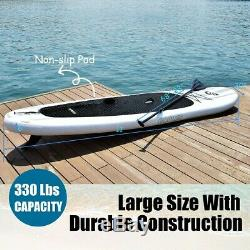 Goplus 11' Inflatable Stand Up Paddle Board SUP ALL NEW