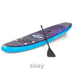 Goplus 11' Inflatable Stand Up Paddle Board Surfboard WithBag Aluminum Paddle Pump