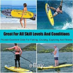 Goplus 11' Inflatable Stand up Paddle Board SUP with 3 Fins Brand New