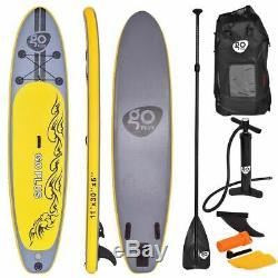 Goplus 11' Inflatable Stand up Paddle Board SUP with 3 Fins Brand New SHIPS FREE