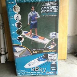 Hydro Force Inflatable Stand Up Paddle Board, 10ft x 32 inch x 4 inch, Brand New