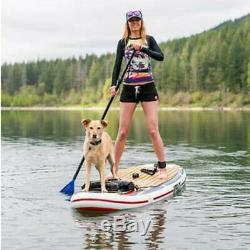 Hyperlite Admiral 11'' Inflatable Stand Up Paddle Board Package