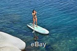 ISLE Airtech Inflatable 10'4 Yoga Stand Up Paddle Board 6 Thick iSUP Package