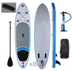 ISPU 12'10 Stand Up Paddle Board Inflatable SUP 6 Thick with Paddle