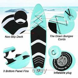 ISUP Inflatable Stand Up Paddle Board 10'x30''x6'' With FREE SUP Accessories